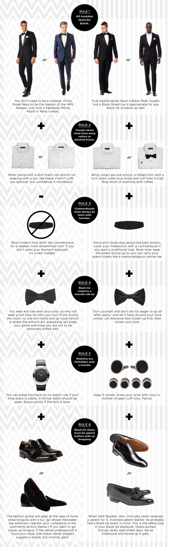 25 Life Changing Style Charts Every Guy Needs Right Now From Howtotiethebowtieknottyinginstructionspng 12 But Wait Maybe Youre In The Market For A Tux Consider These Rulesthat You Should Break